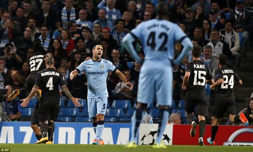 Lượt cuối Cúp C1: Man City, Liverpool run rẩy - 1