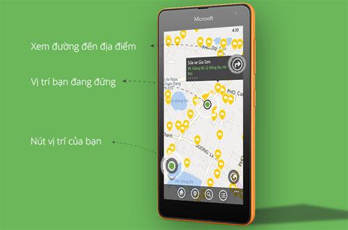 Cốc Cốc ra mắt ứng dụng địa điểm trên Windows Phone - 3