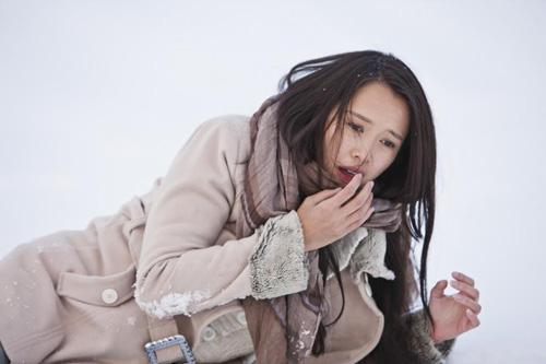 """Ngọc Anh: Tôi không ngại diễn """"ân ái"""" với Trần Bảo Sơn - 3"""