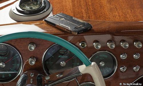 """Siêu smartphone"" Lamborghini Tauri 88 giá 6.000 USD - 2"