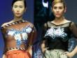 Mẫu Việt gợi cảm với áo lụa thêu tay