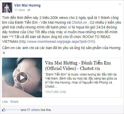 MV mới của Văn Mai Hương đạt 2 triệu lượt xem trong 2 ngày - 6