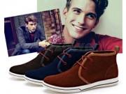 Làm mới phong cách với giày vải nam cá tính Notyet