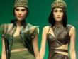 """Mẫu Việt """"hóa"""" nữ chiến binh trên sàn diễn"""