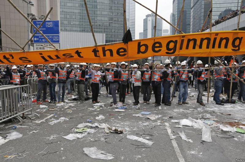 """Báo TQ hả hê với thất bại của """"cách mạng Hong Kong"""""""