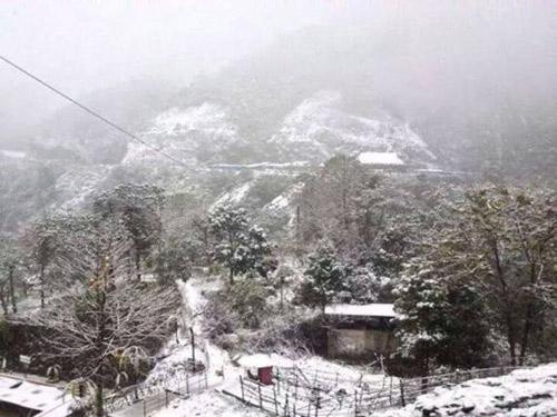 Tuyết rơi ở Hà Giang là tin đồn thất thiệt