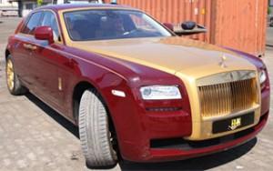 Cận cảnh siêu xe 40 tỷ mạ vàng của Mr. Đàm