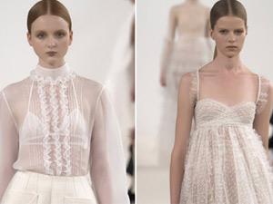 """Váy trắng của Valentino đẹp tới mức """"nín thở"""""""