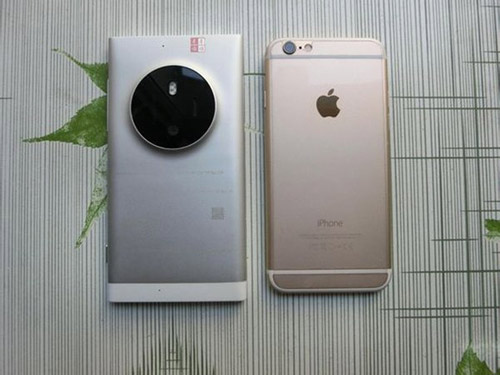 Lumia 1030 bất ngờ xuất hiện bên iPhone 6 - 1