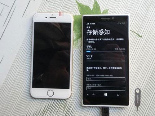 Lumia 1030 bất ngờ xuất hiện bên iPhone 6 - 5