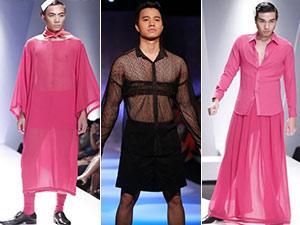 Các chàng trai, xin hãy ngừng mặc váy!