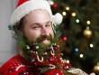 Biến râu thành tổ chim, cây thông đón Giáng Sinh
