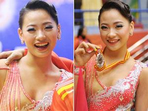 Cô gái 15 tuổi được phong kiện tướng dancesport quốc gia