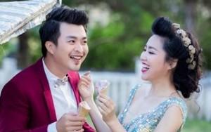 Bộ ảnh cưới đáng yêu của diễn viên Lê Khánh