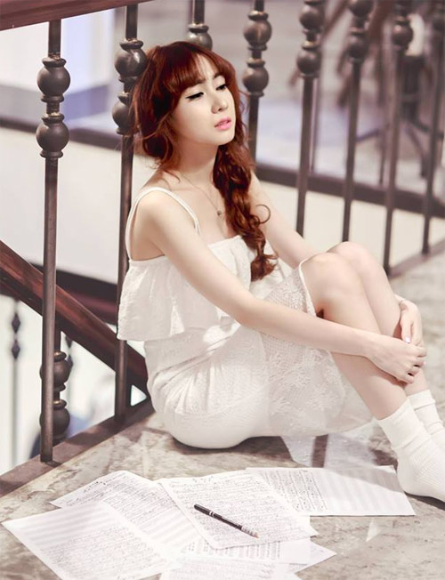 """Thái Tuyết Trâm ra MV """"Nói yêu em đi"""""""