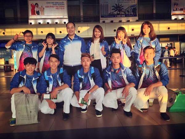 Gặp gỡ chàng trai trẻ tuổi nhất đội tuyển Wushu Việt Nam