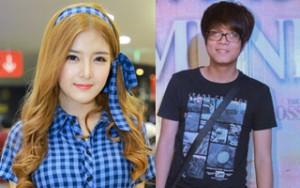 """Hot girl Lily Luta tránh mặt """"tình cũ"""" Bùi Anh Tuấn"""