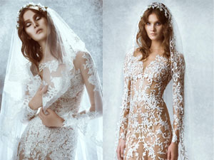 Đẹp mê hồn váy cưới nữ thần của Zuhair Murah