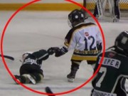"""""""Tan chảy"""" với hình ảnh đẹp của 2 VĐV hockey nhí"""