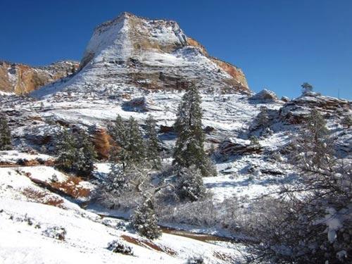 """Công viên quốc gia Zion, """"ốc đảo"""" khổng lồ ở nước Mỹ - 1"""