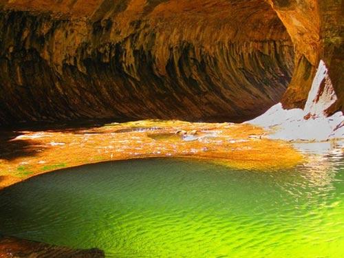 """Công viên quốc gia Zion, """"ốc đảo"""" khổng lồ ở nước Mỹ - 7"""