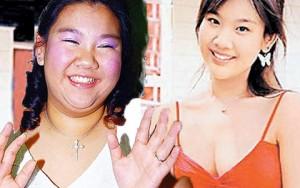 Diễn viên Hong Kong xấu – đẹp thất thường vì cân nặng