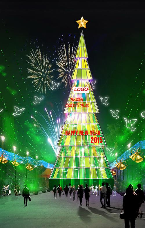 """Ngắm những cây thông """"khủng"""" nhất mùa Giáng sinh 2014 - 2"""
