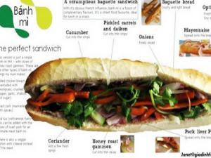 """""""Bánh mì"""" Việt được đưa vào từ điển Anh Mỹ"""