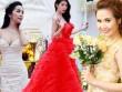 """Top váy cưới đẹp """"miễn chê"""" của sao Việt năm 2014"""