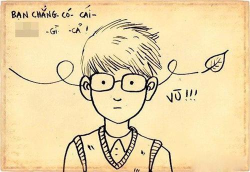 """Chùm tranh ý nghĩa: """"Đừng chán nản khi bạn không có gì"""" - 6"""