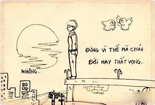 """Chùm tranh ý nghĩa: """"Đừng chán nản khi bạn không có gì"""" - 7"""