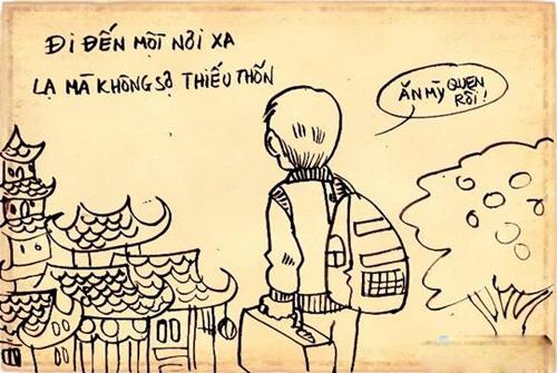 """Chùm tranh ý nghĩa: """"Đừng chán nản khi bạn không có gì"""" - 13"""