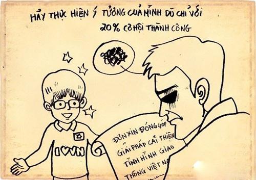 """Chùm tranh ý nghĩa: """"Đừng chán nản khi bạn không có gì"""" - 18"""