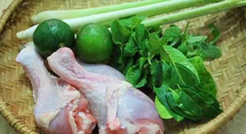 Ngon tuyệt đỉnh thịt gà rang lá chanh - 1