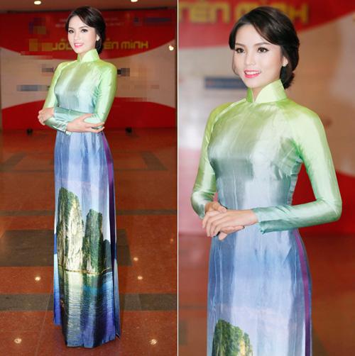 Hoa hậu Kỳ Duyên nhí nhảnh bên chân dài Thanh Hằng - 2