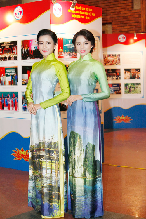 Hoa hậu Kỳ Duyên nhí nhảnh bên chân dài Thanh Hằng - 6