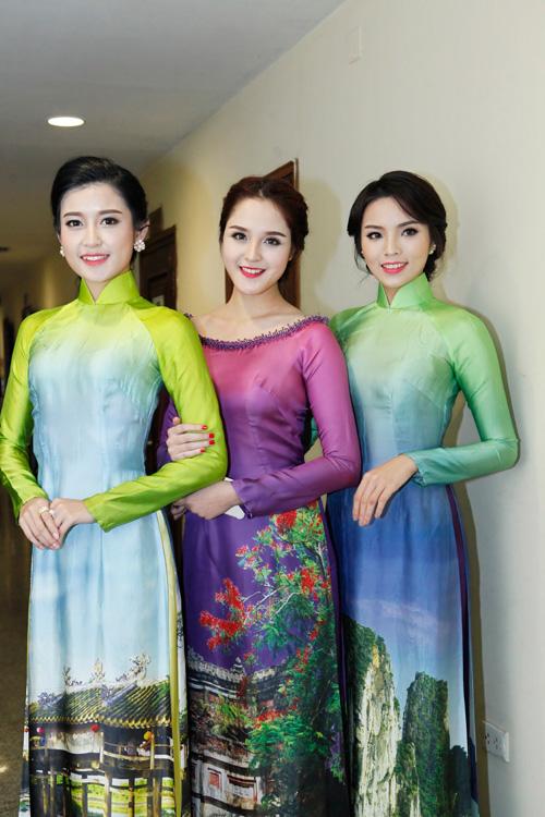 Hoa hậu Kỳ Duyên nhí nhảnh bên chân dài Thanh Hằng - 5