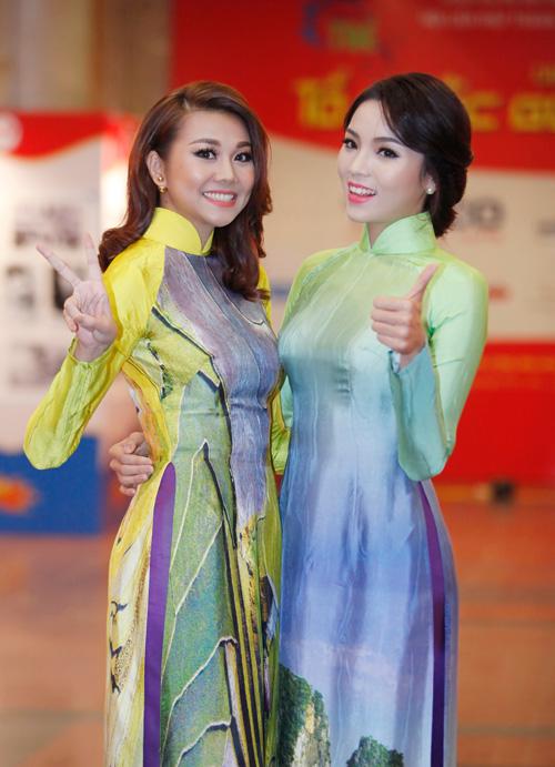 Hoa hậu Kỳ Duyên nhí nhảnh bên chân dài Thanh Hằng - 3