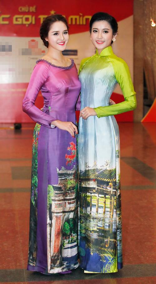 Hoa hậu Kỳ Duyên nhí nhảnh bên chân dài Thanh Hằng - 8