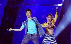Cặp đôi vũ công ứng viên vô địch được ví như Chí Phèo, Thị Nở
