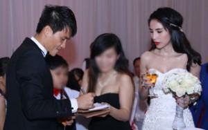 Những sự cố bất ngờ trong đám cưới khủng của sao Việt