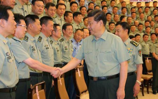 TQ thuyên chuyển một loạt tướng quân đội cấp cao - 1
