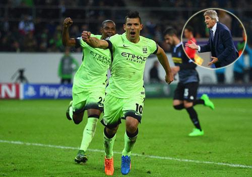 HLV Pellegrini thừa nhận Man City thắng may mắn - 1