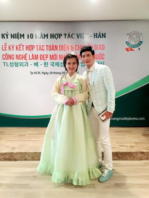 """Quách Thành Danh sánh vai """"Cô gái Trung Hoa"""" dự sự kiện thẩm mỹ - 4"""