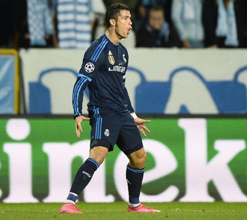 """Real: """"Chiếc lò xo Ronaldo"""" lại bật tung - 1"""