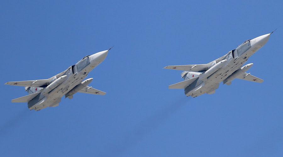 Nga công bố video không kích IS ở Syria - 2