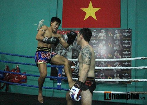 Võ sỹ Duy Nhất tung chiêu Muay Thái cực đỉnh - 6