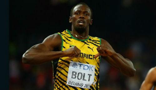 """Usain Bolt thác loạn, """"đốt tiền"""" bên vũ nữ - 1"""