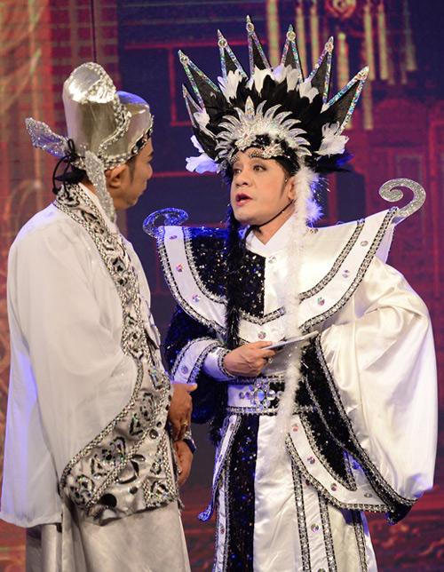 Minh Nhí, Đại Nghĩa hóa trang lập dị gây cười cho khán giả - 1