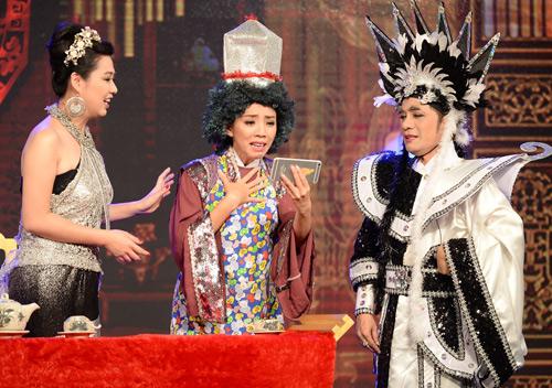 Minh Nhí, Đại Nghĩa hóa trang lập dị gây cười cho khán giả - 3